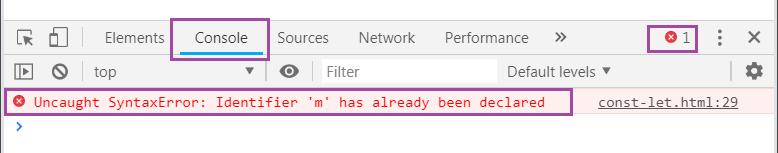 console JS в браузере