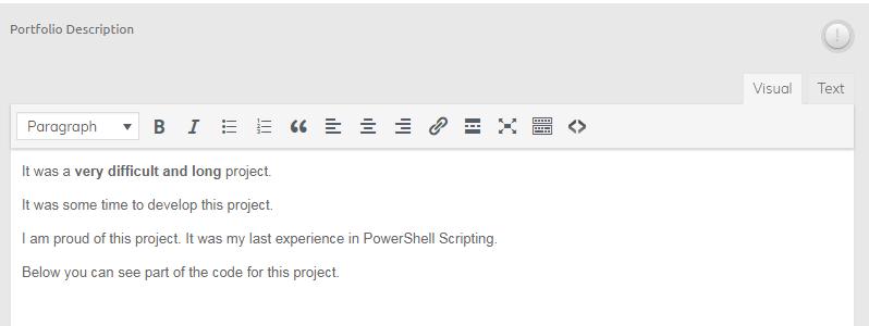 wp-editor в произвольном поле