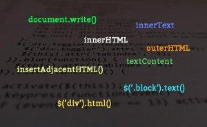 строка из JS в HTML