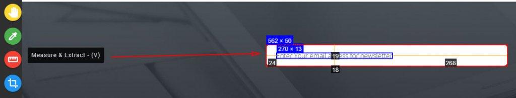 Measure Tool - Инструмент выделения и измерения размеров