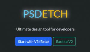 Стартовый экран studio.psdetch.com