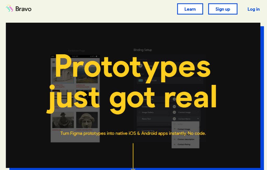 Bravo - App Builder for Designers