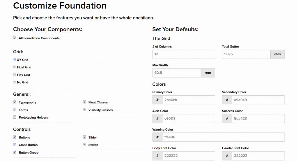 customize Foundation