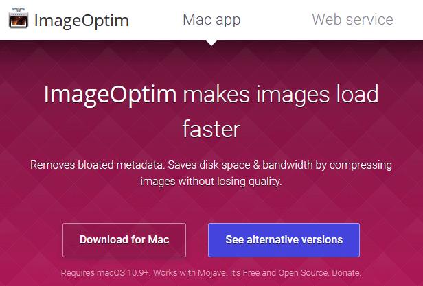 ImageOptim для MacOS