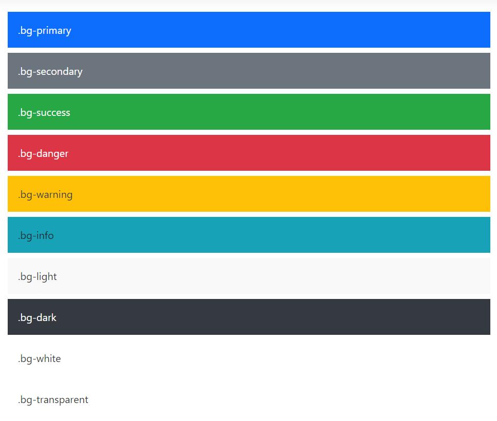 цвета в Bootstrap-5