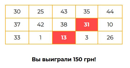 Случайные числа и лотерея