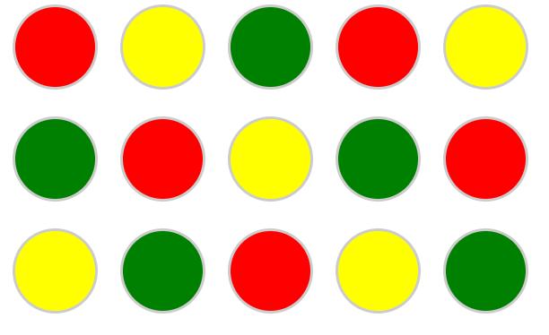 setInterval circles