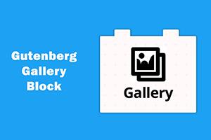 Замена кода фотогалереи в блочном редакторе Gutenberg