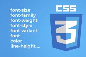 css-font-properties